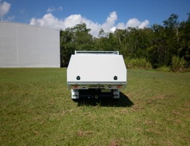 Mazda BT50 extra cab alloy tray painted 3 door canopy (15).jpg
